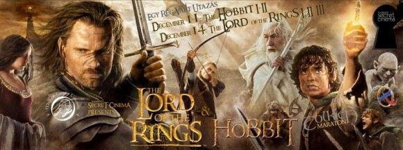A Hobbit és Gyűrűk ura – kétnapos film maraton