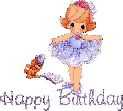 Bailarina Happy Birthday