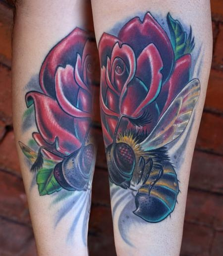 Tim Senecal - Brians Bee #tattoo