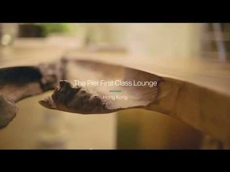 The Pier First Class Lounge at Hong Kong International Airport | designed by Ilse Crawford the second in a series of renovation collaborations between Cathay Pacific and Studio Ilse