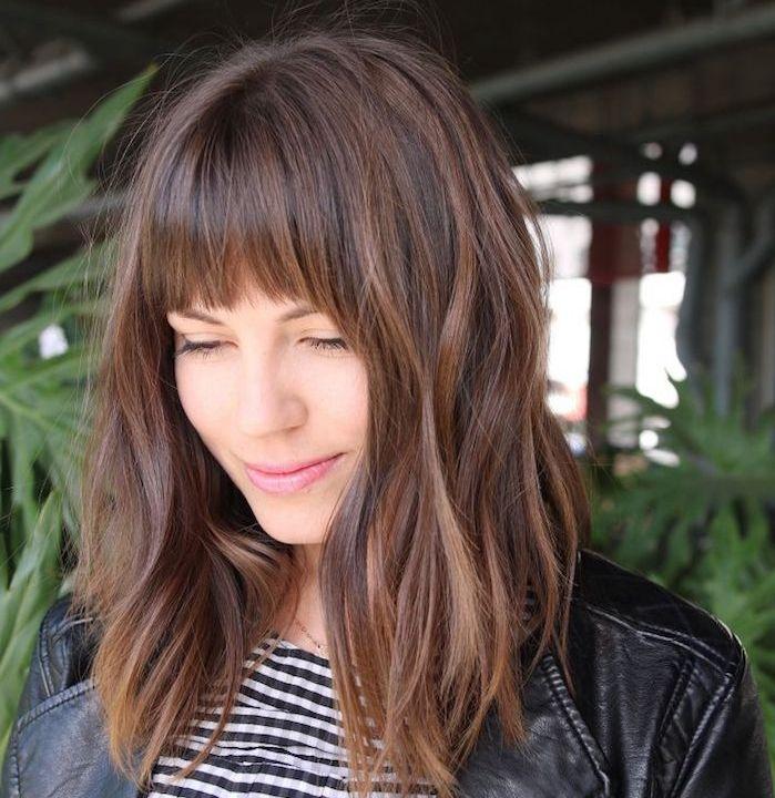 6057 best coiffures images on pinterest - Comment couper une frange en degrade ...
