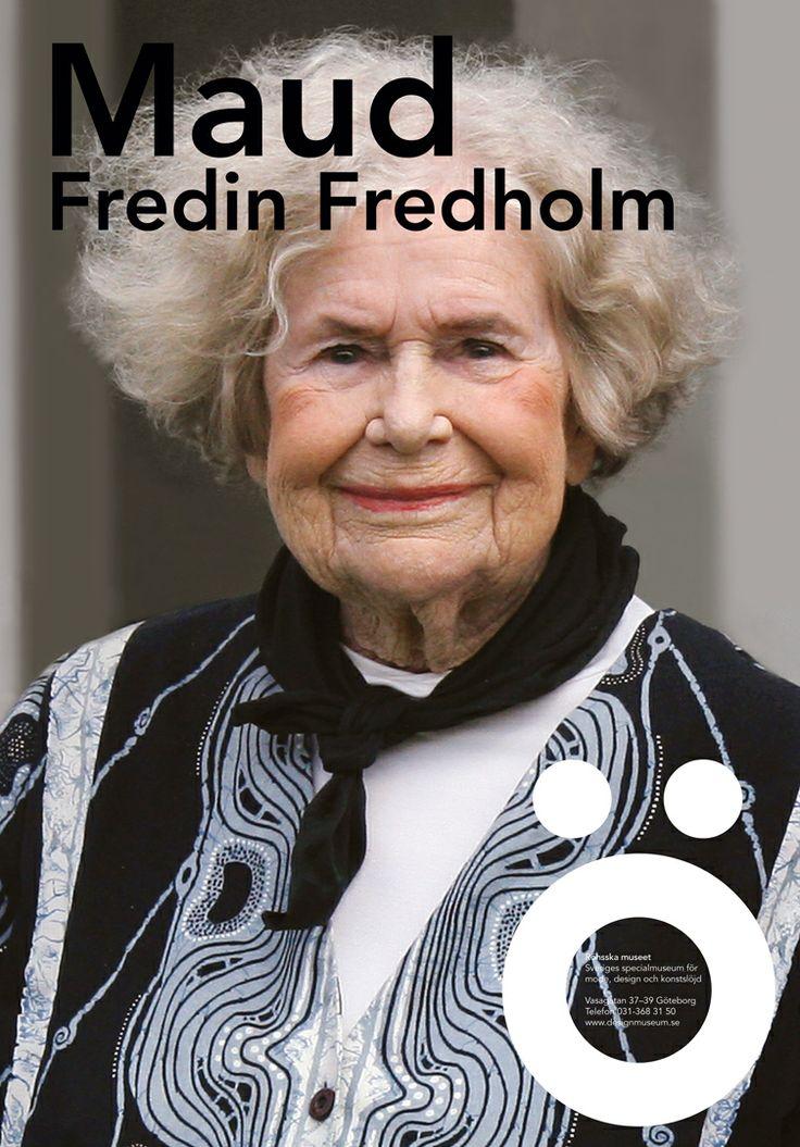 Maud Fredin Fredholm, 2009.
