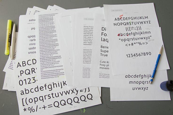 Disney Typefaces - Michael Cina
