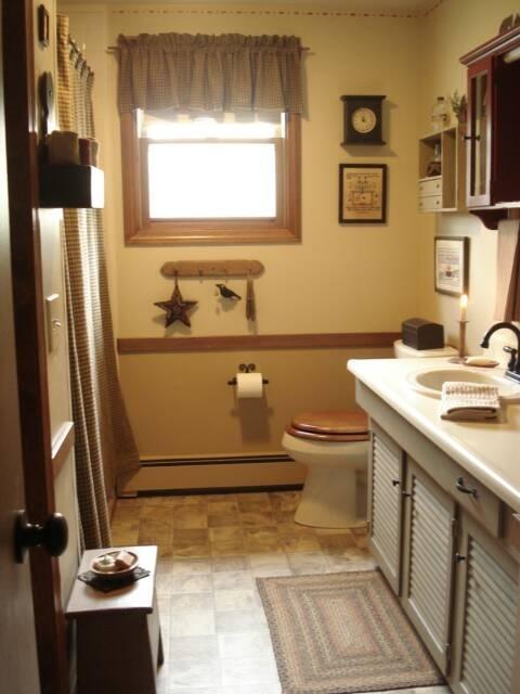 51 best primitive bathroom ideas images on pinterest