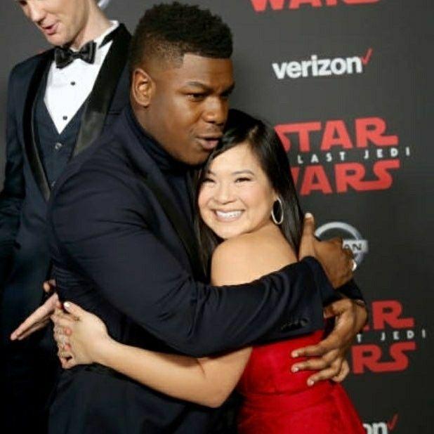 John Boyega Kelly Marie Tran Finn Rose Finnrose Rosetrooper Star Wars Cast Star Wars Movie Star Wars Ships