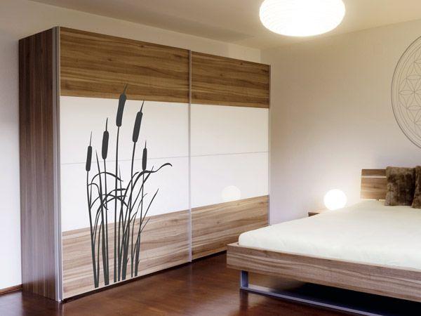13 besten schr nke mit wandtattoos bekleben bilder auf pinterest schrank bekleben einfach. Black Bedroom Furniture Sets. Home Design Ideas