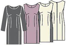 Выкройки платьев - Бесплатные выкройки для шитья одежды