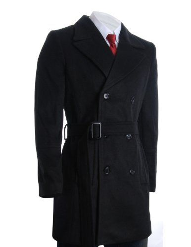 FLATSEVEN Mens Winter Double Breasted Pea Coat Long Jacket (CT122) Black, 4XL FLATSEVEN http://www.amazon.com/dp/B00QP62M4U/ref=cm_sw_r_pi_dp_ahB2ub08VCFV8  #Winter #Coat Long #Jacket #FLATSEVEN #Men #Fashion
