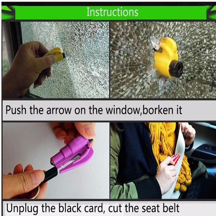 Seat Belt Cutter- Cuts the jammed seat belt Window Breaker- Break car side window Rescue People or Myself From Danger And Emergency! Compact, lightweight & powerful Easily accessible, no installation required Most affordable and reliable car escape tool