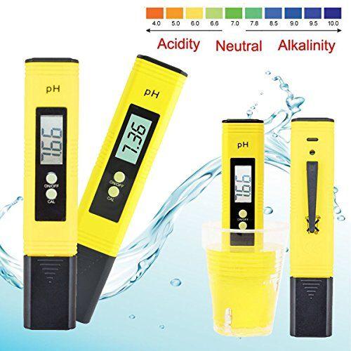 Digital pH Meter Messger�t , GOCHANGE pH Wert Wasser Messger�t pH Tester Meter Pr�fer 0-14 f�r Aquarium Pool Schwimmbad, Pool, Landwirtschaft Aquarium Wein Urin usw.