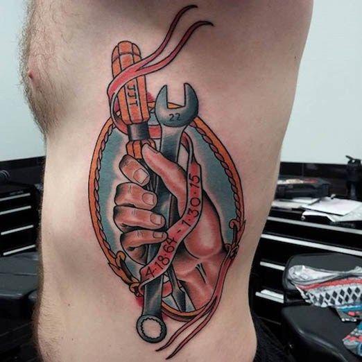 50 Coolest Memorial Tattoos: 54 Best Memorial Tattoos For Men Images On Pinterest
