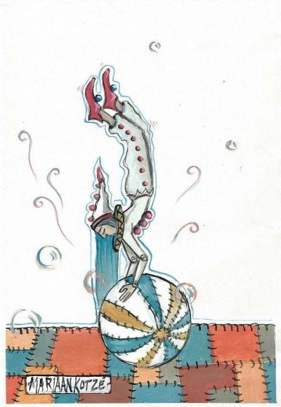 13M84  Circus Puppet