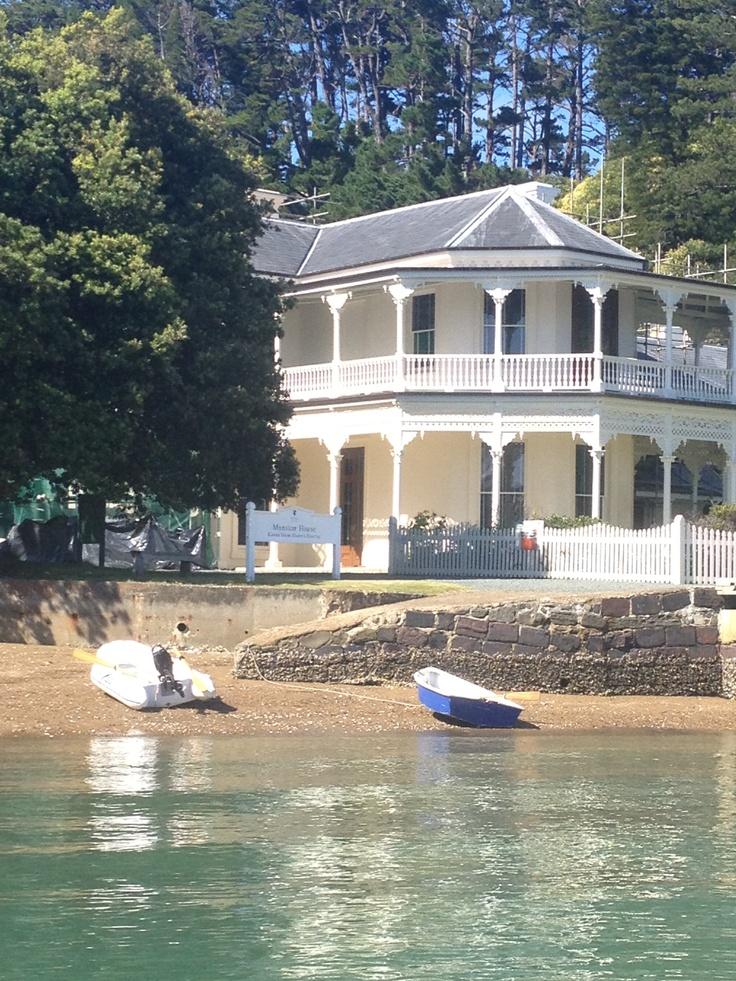 Mansion House, Kawau Island