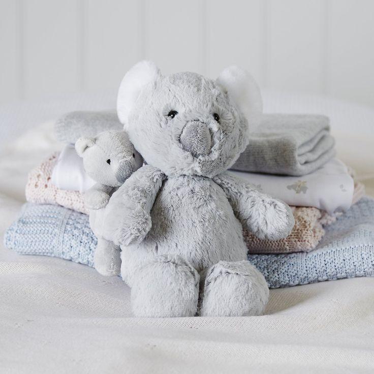 Mummy & Baby Koala Bear Family   The White Company UK