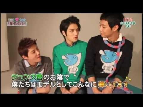 ~JYJ NII  撮影現場 ~日本放送より^^ 日本語字幕付き
