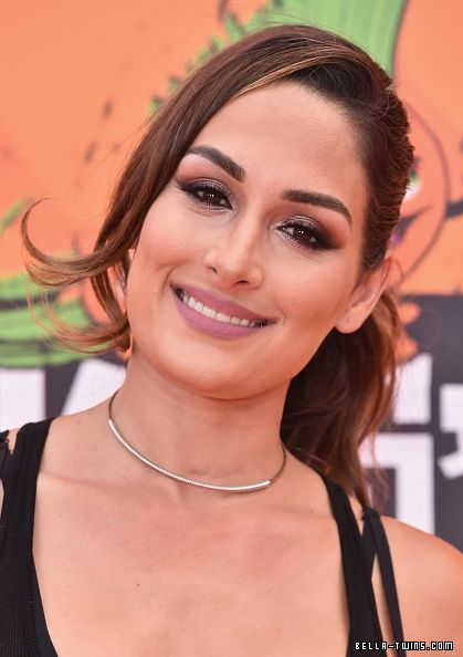 Nickelodeon Kids' Choice Sports Awards 2016 - Arrivals - 547393482 - DOUBLE GLAMOUR // Your largest Brie & Nikki Bella Photo Archive, with over 350,000 photos