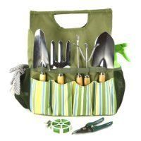 If you are looking for gardening gift sets for men, then the Essential Garden Tool Bag and Tools is the ideal present. With lots of outside pockets for garden tools, this is a durable waterproof canvas tote bag for the gardener. Includes a hand trowel, a hand fork, bulb trowel and a weed popper. It is flexible and designed to be one of the perfect gardening gift sets for men. This garden tool bag will make the perfect gardening gift. A pair of gardening gloves and secateurs are also…