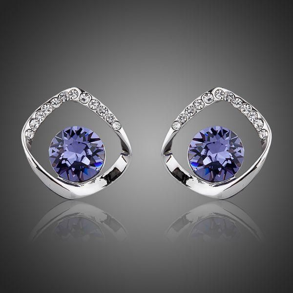 Noble Mauve Earrings
