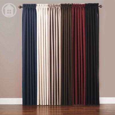 We love these window panel colors! #window #homedecor #annaslinens