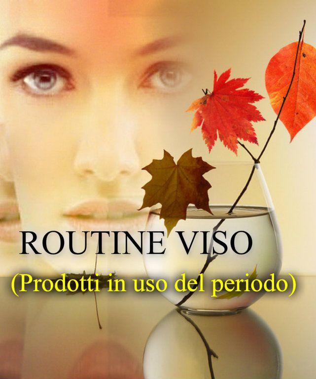 Video sul canale: https://www.youtube.com/watch?v=ST7Z1Y_Skr4  Articolo sul blog: http://danyshobbies.blogspot.it/2014/11/routine-viso-del-periodo.html