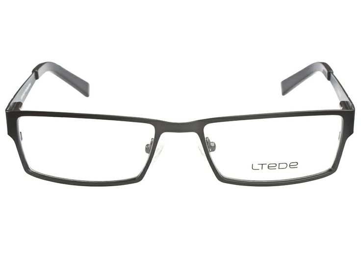 Ltede 1039 black silver glasses silver