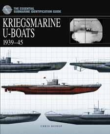 Kriegsmarine U-Boats 1939–45 by Chris Bishop, Amber Books, is a comprehensive guide to the submarine arm of the German navy in World War II. Divided by flotilla, this book offers a complete organizational breakdown of U-boat units, from the beginning of the war in the North Atlantic through to last days of the Reich. Every type of German submarine is featured, making it an essential reference guide for modellers, military historians and naval warfare enthusiasts alike.