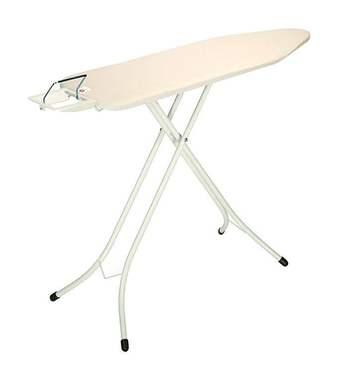 Brabantia Ironing Board With Steam Iron Rest Size B Standard Ecru Cover Iron Rest Ironing Board Brabantia