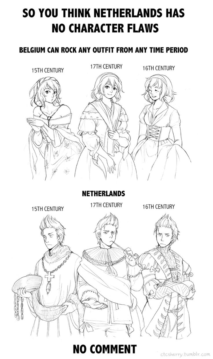 (( Art by ctcsherry.tumblr.com ...Oh my goodness, Netherlands is just RIDICULOUS in all of this. Poland would definitely disprove.))<<Yep XD he looks okay in the left one though.