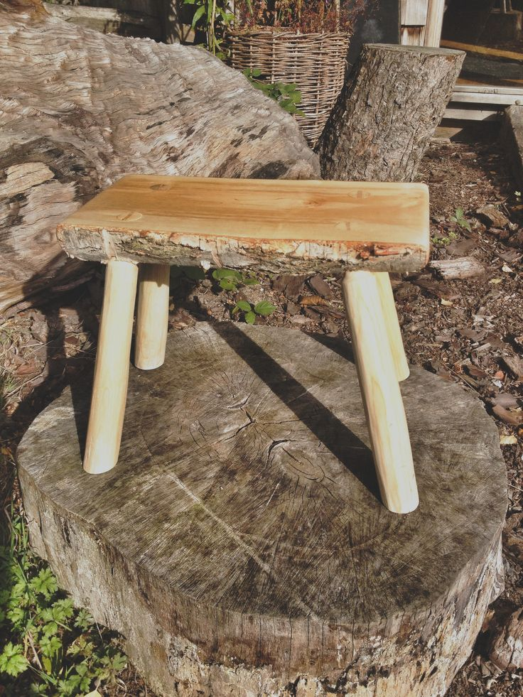 Greenwood Stool Wood Greenwood Pinterest Stools