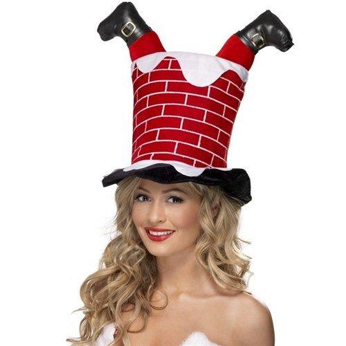 Bu baca başka baca... Noel babanın bacadan girme ritüeli artık eskide kaldı çünkü artık Santa Stuck In Chimney Hat var. Kafanızın içine girmeye çalışıyor gibi gözüken Yılbaşı şapkası ile hem tüm dikkatleri üstünüze toplayabilir hem de eski yılbaşı geleneklerini kafanızda yaşatabilirsiniz. http://www.buldumbuldum.com/hediye/santa-stuck-in-chimney-hat-bacadan-giren-noel-baba-sapkasi/
