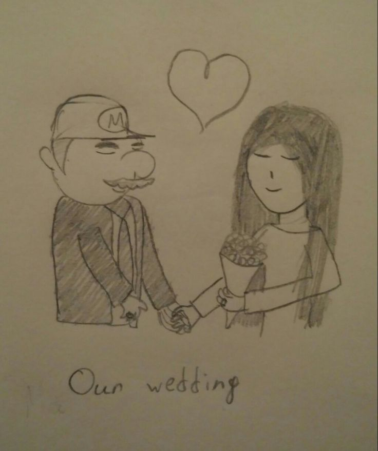 Mario and I are a married couple now