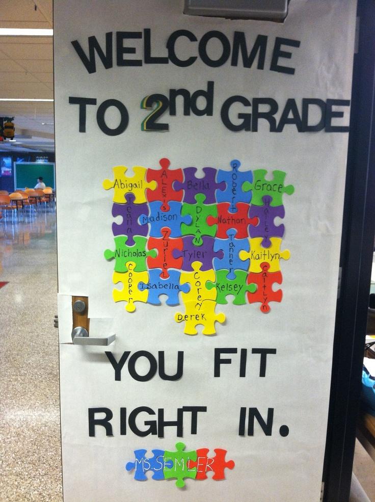Classroom Welcome Ideas ~ Best preschool welcome door ideas on pinterest