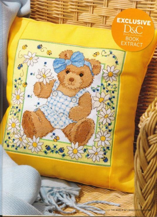 Sunny Summer Bear The World of Cross Stitching  Issue 148 March 2009 Saved