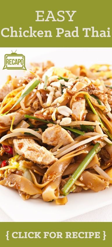 Do you love chicken pad thai? Check out this recipe from Daphne Oz on The Chew. She promised this is easy to make after work. The noodles basically cook themselves, and the sauce is easy to throw together!