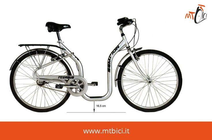 Bici Speciali Magadino 26 1V Alluminio Speedcross Il telaio dalla forma non lineare la rendono una bicicletta unica ed esclusiva e grazie allo scavalco estremamente basso, che dista da terra solo 16,5 cm la Magadino è estremamente pratica e ideale per le persone con poca agilità e praticità. Scopri di più su www.mtbici.it/biciclette/bici-speciali/bici-speciali-unisex-mod-magadino-26-1v-alluminio-speedcross.html