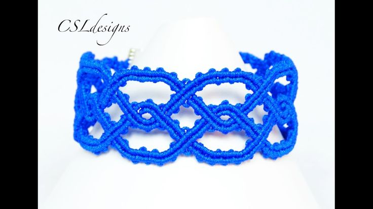 Twisted celtic macrame bracelet