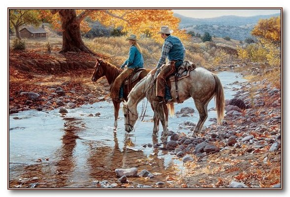 """Tim Cox - Western Art """"Heart and Home"""""""