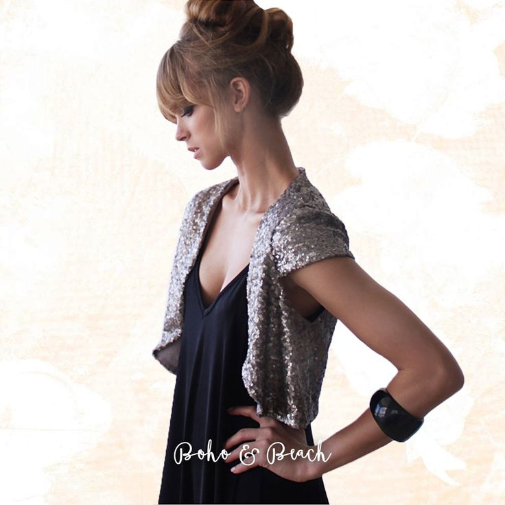 Calling all bohemian girls who are obsessed with bling and sequin! | Shop the look at www.bohoandbeach.com