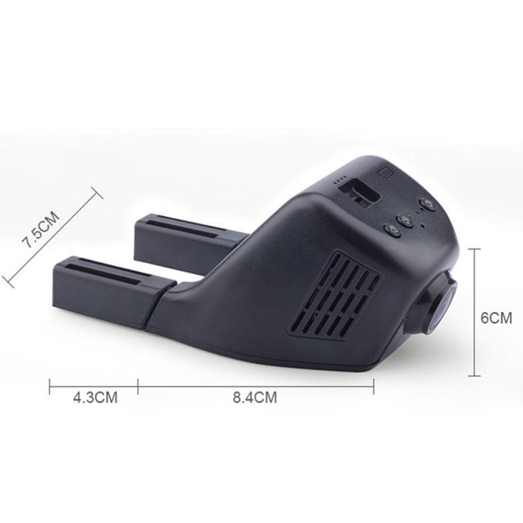For VW Jetta / Car Driving Video Recorder DVR Mini Control APP Wifi Camera Black Box / Registrator Dash Cam Original Style #Affiliate