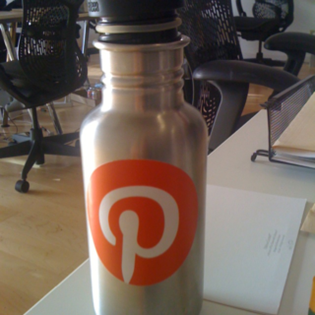 Pinteresting water bottle!