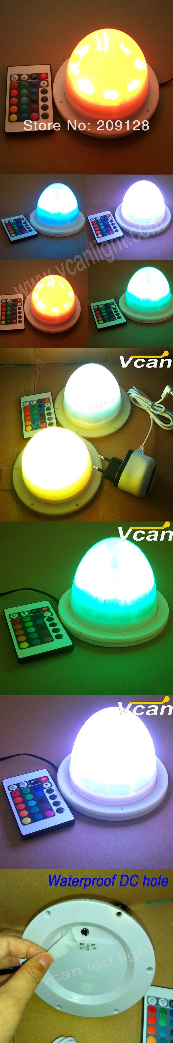 11.7cm remote controlled battery operated led light  to outdoor VC-L117
