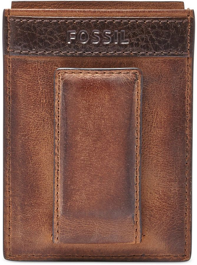 Visconti Tuscany 49 RFID Blocking Genuine Leather Card Holder Wallet Brown