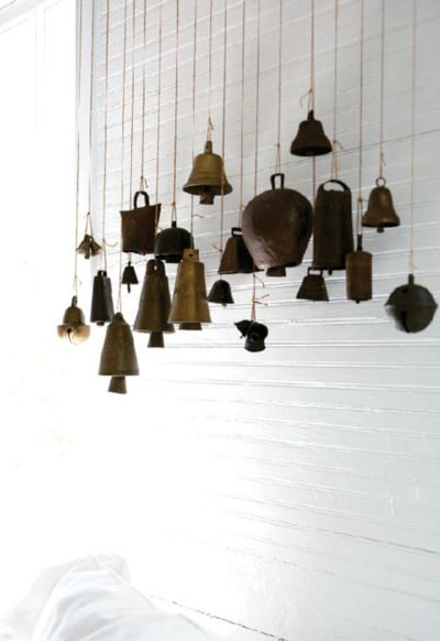 Vintage bells, repurposed.