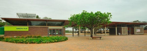 The Green Hub is one of the best places you can go to visit. This is one of the main focal points of the Durban Green Corridor.