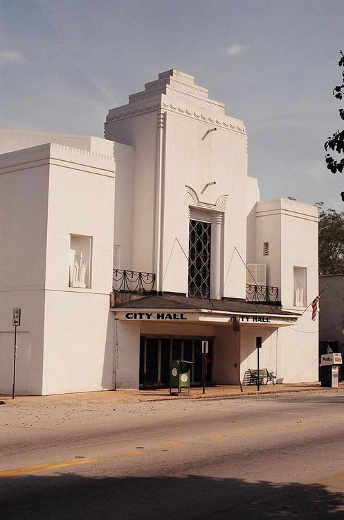 City Hall, Hogansville, Georgia #artdeco #architecture