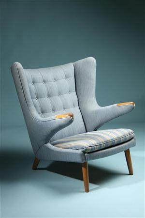 Papa Bear. Designed by Hans Wegner for AP Stolen, Denmark. 1950's. ~ Sweet Chair please follow me home :)
