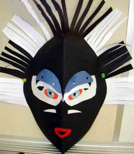 MASK MAKING WITH PAPER