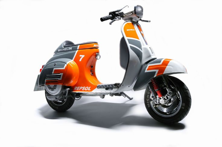 25 best ideas about scooter custom on pinterest mopeds for Garage scooter nice