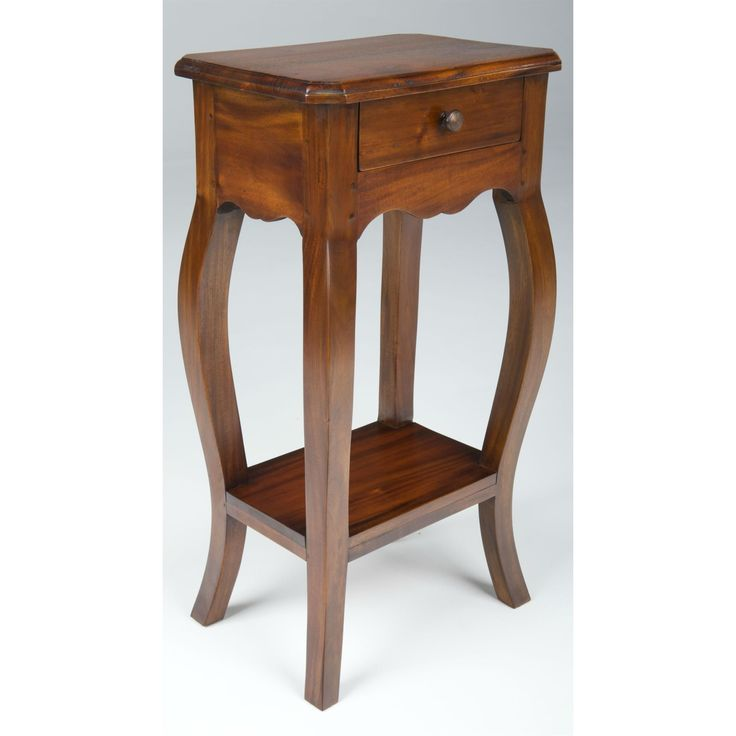 Mahogany Village Small Telephone Table from Queenstreet Carpets & Furnishings