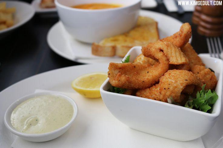 Calamari - Lake View Hotel, Ballarat